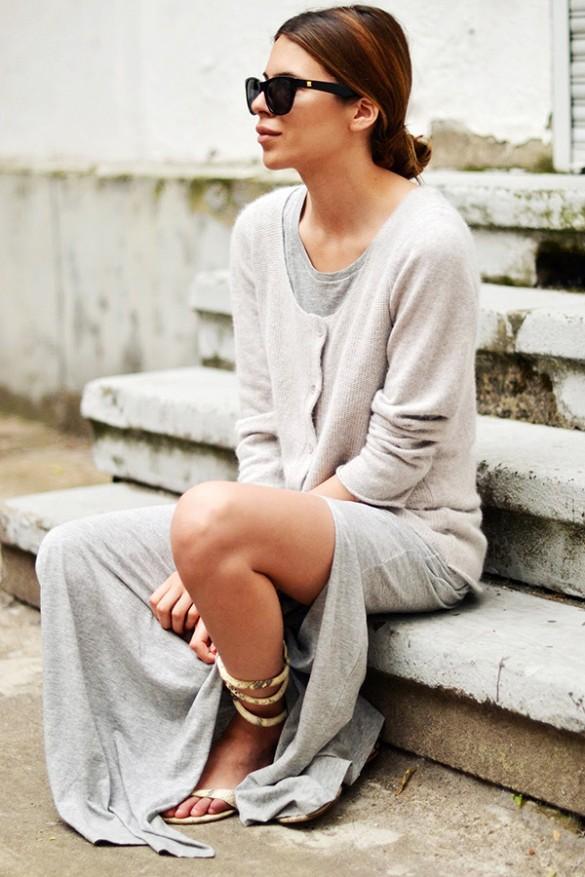 Gợi ý nhiều cách mặc cardigan ngày thu cho phái đẹp 6