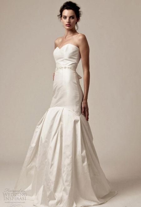 Váy cưới nữ tính từ Palazzo