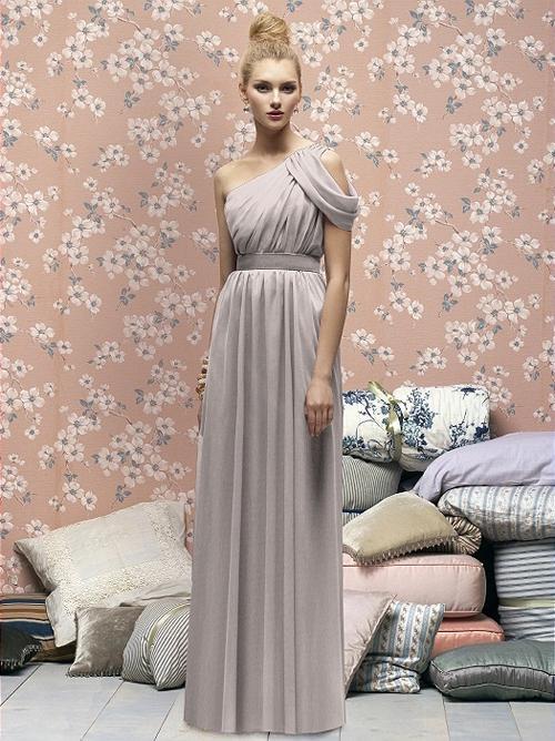 Xu hướng váy phù dâu tone màu pastel 2014 8
