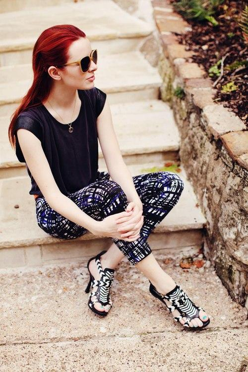 Thời trang siêu kẹo ngọt của blogger mê giày