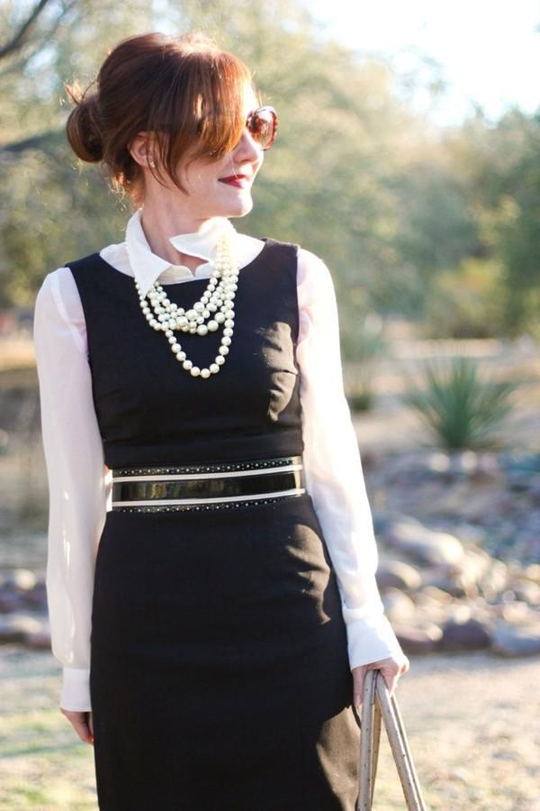 7 cách đơn giản khiến chiếc váy đen thêm bắt mắt 23