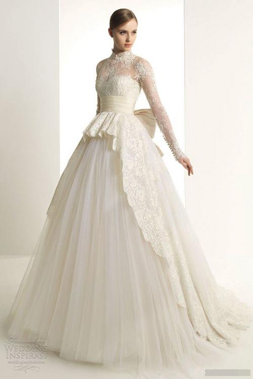 Chọn váy cưới đẹp, ấm cho cô dâu mùa đông - 10
