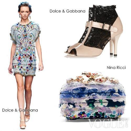 7 cách phối hợp váy ren sang & sành