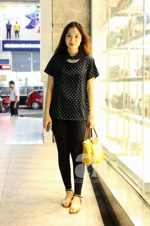 Ngắm street style ngày cuối thu của phái đẹp Hà Nội 8