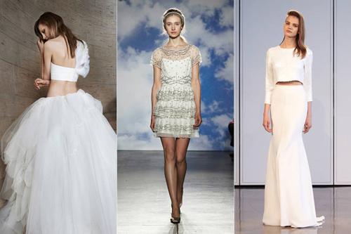 11 mẫu váy cưới thanh lịch khó lỗi mốt - 1