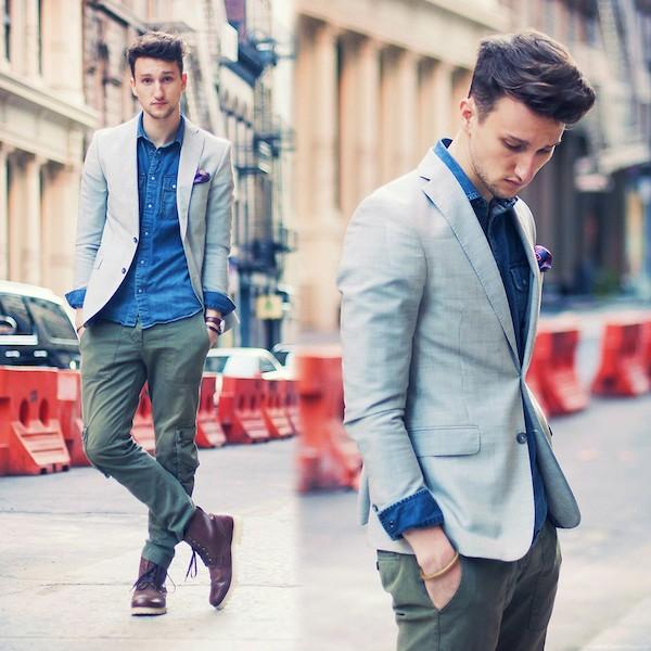 Giới trẻ thế giới mặc chất với item menswear và bigsized 4