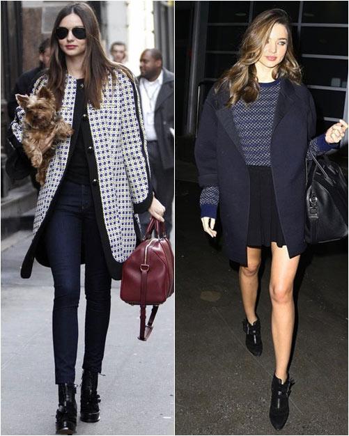 Chọn áo khoác mùa đông chuẩn như Miranda Kerr - 17
