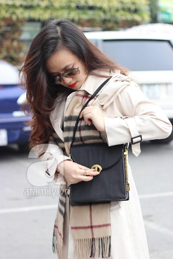 Phái đẹp Hà thành xúng xính áo khoác cho street style ngày lạnh 3