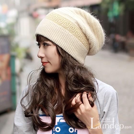 Các mẫu mũ len đẹp ngày cuối đông