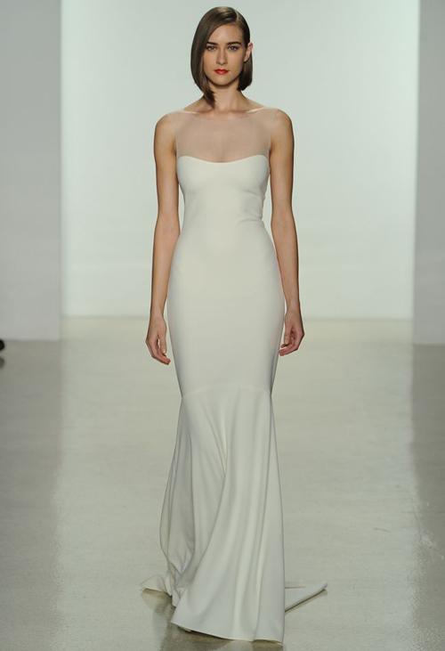 11 mẫu váy cưới thanh lịch khó lỗi mốt - 6
