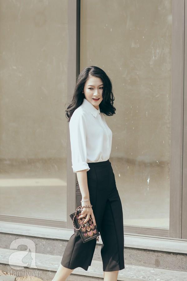 Trở lại làm việc với cả tuần mặc đẹp & phong cách cùng sơmi trắng 4