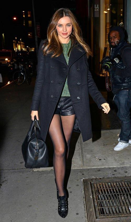 Chọn áo khoác mùa đông chuẩn như Miranda Kerr - 8