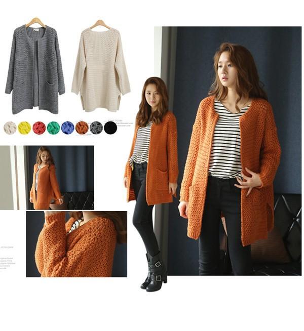 Mix đồ đa phong cách với áo khoác len đủ sắc màu