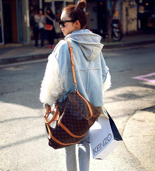Các mẫu áo khoác nữ đẹp dễ thương ngọt ngào đón mùa đông