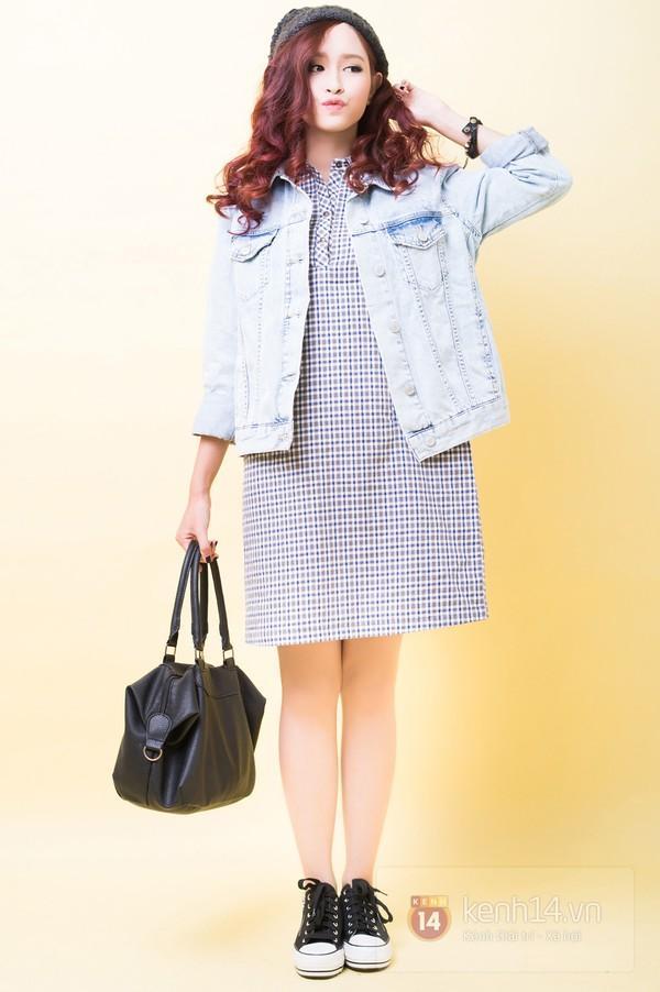 5 cách mix&match cực xinh với denim jacket quen thuộc 4