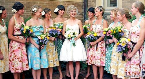 7 gợi ý váy phù dâu thời trang và nhã nhặn 23