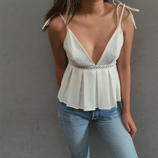 áo mùa hè cho ngực lép