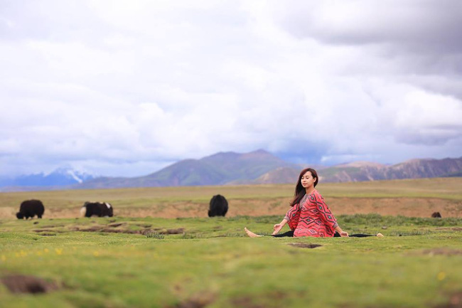 Tập Yoga tại tất cả mọi nơi mình đi qua - cô gái người Việt này đang truyền cảm hứng cho rất nhiều người! - Ảnh 14.