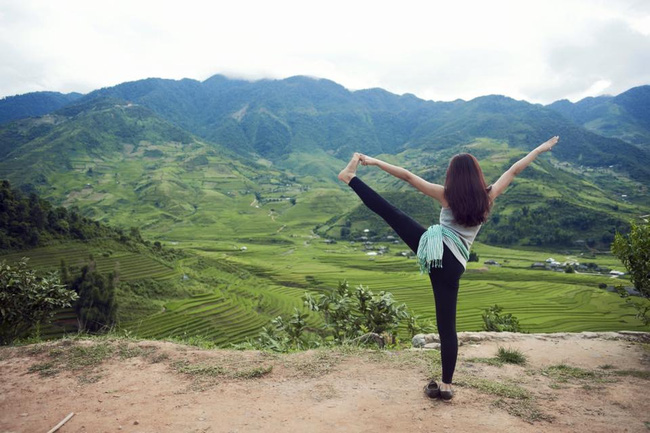 Tập Yoga tại tất cả mọi nơi mình đi qua - cô gái người Việt này đang truyền cảm hứng cho rất nhiều người! - Ảnh 16.