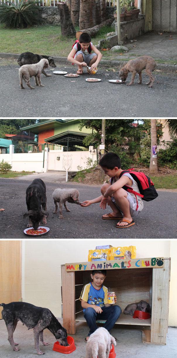 20 bức ảnh về nghĩa cử cao đẹp của những đứa trẻ khiến bạn có thêm niềm tin vào tình người