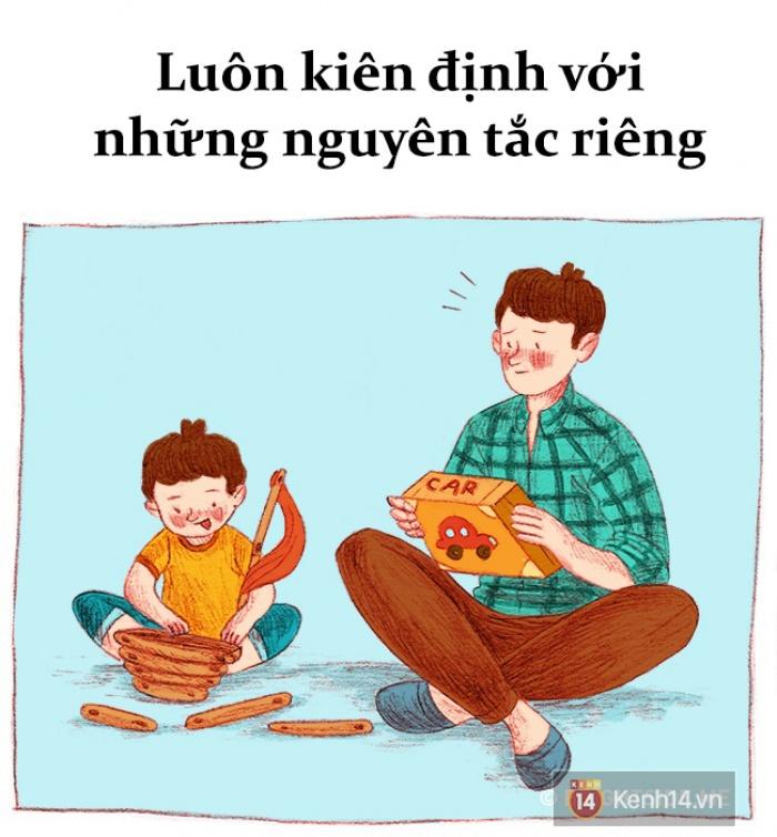 Bộ tranh: Muốn hạnh phúc, hãy sống như 1 đứa trẻ!