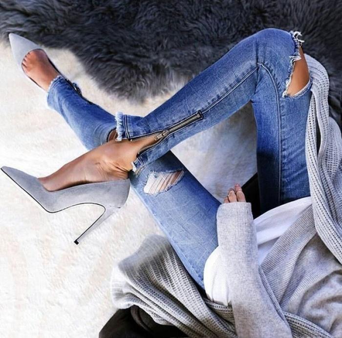 Những biến tấu độc đáo cho jeans lửng tạo nên phong cách của bạn