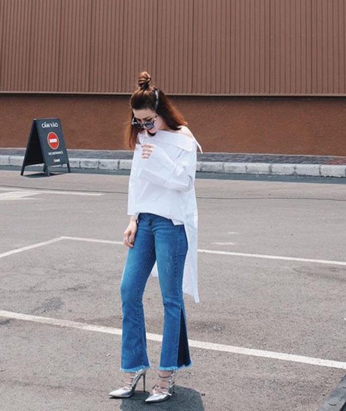 Những thiết kế quần jeans nào đang sốt sình sịch trong hè này?