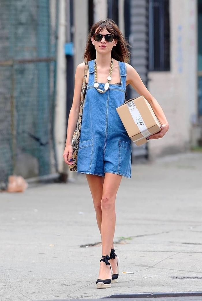 Các mẫu quần yếm đẹp nhất mùa thời trang hè 2016