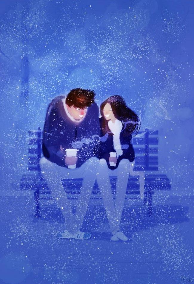 Bộ tranh về hành trình tình yêu tuyệt đẹp mà chúng ta sẽ cùng nhau trải qua