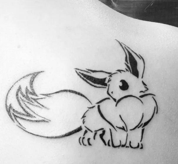 19 mẫu hình xăm dành riêng cho các fan ruột của Pokemon Go