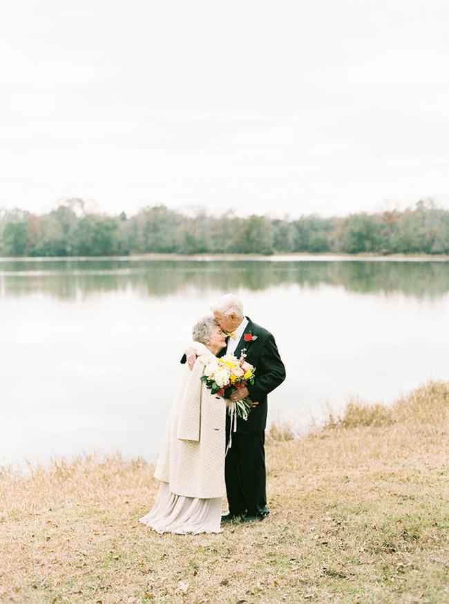 Ai cũng mong có một tình yêu hạnh phúc như hai cụ già trong bộ ảnh kỷ niệm 63 năm ngày cưới này!