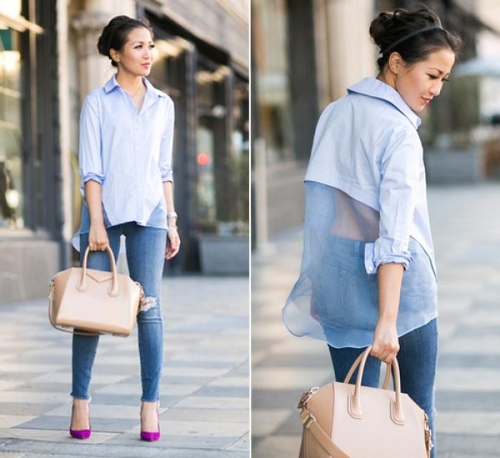 Chỉ cao 1m52, cô gái Việt vẫn nổi tiếng khắp thế giới nhờ mặc đẹp
