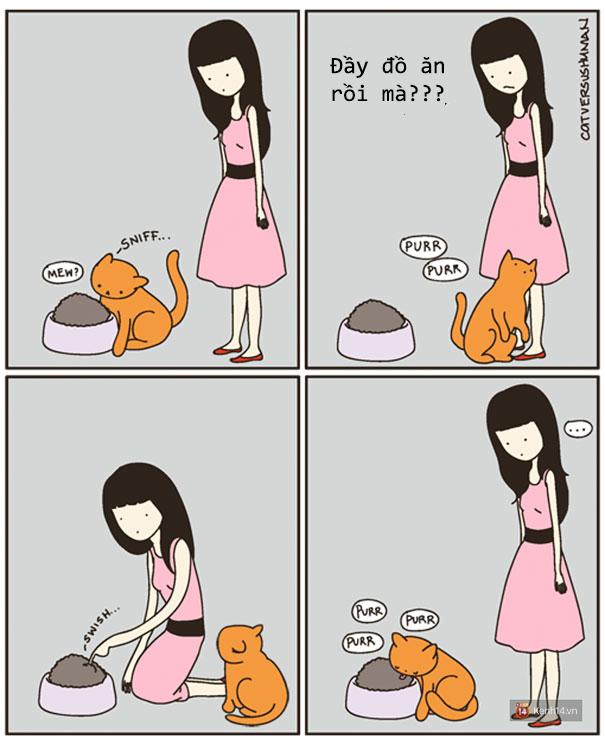 Bộ tranh: Chỉ những ai nuôi mèo mới có thể hiểu sâu sắc những tình cảnh này - Ảnh 13.