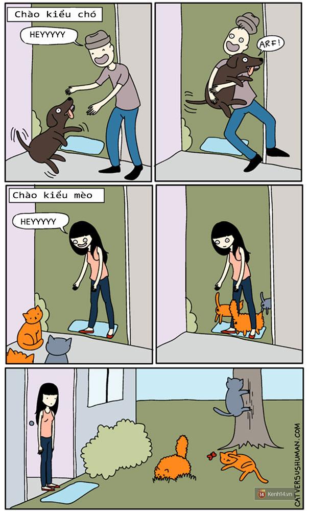 Bộ tranh: Chỉ những ai nuôi mèo mới có thể hiểu sâu sắc những tình cảnh này - Ảnh 1.