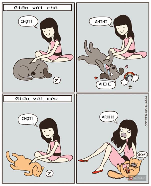 Bộ tranh: Chỉ những ai nuôi mèo mới có thể hiểu sâu sắc những tình cảnh này - Ảnh 20.