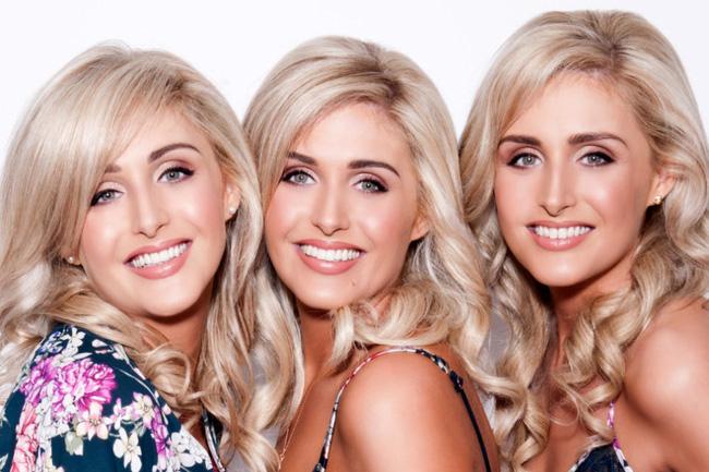 Đây là những cô nàng sinh 3 xinh đẹp, quyến rũ và giống nhau nhất thế giới - Ảnh 1.