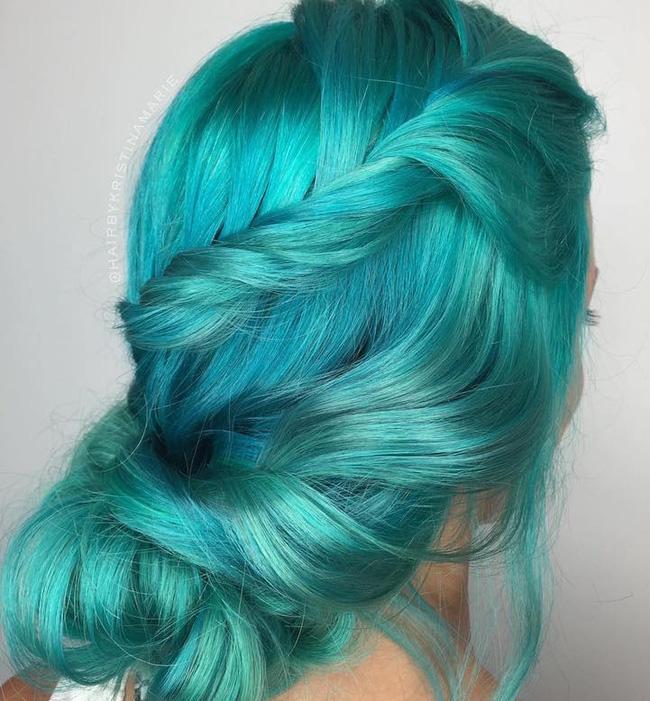 Dù bị bố mẹ mắng nhưng vẫn phải công nhận tóc nhuộm kiểu nàng tiên cá đẹp quá - Ảnh 6.