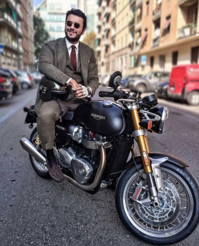 Mặc suit đi motor: Một phong cách vừa ngầu lại vừa lịch của các chàng - Ảnh 11.