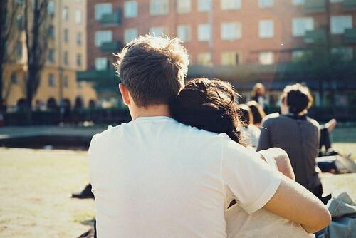boy, couple, cuddle, girl, hug, kiss, love, together