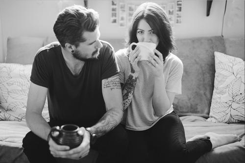 Kết quả hình ảnh cho couple tumblr coffee