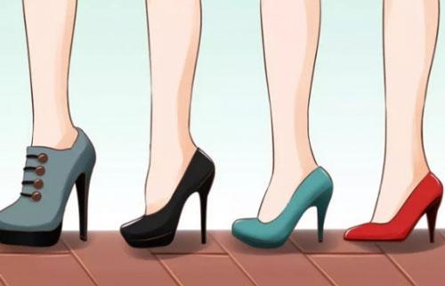 Những sai lầm khi mang giày cao gót khiến bạn càng đi càng xấu