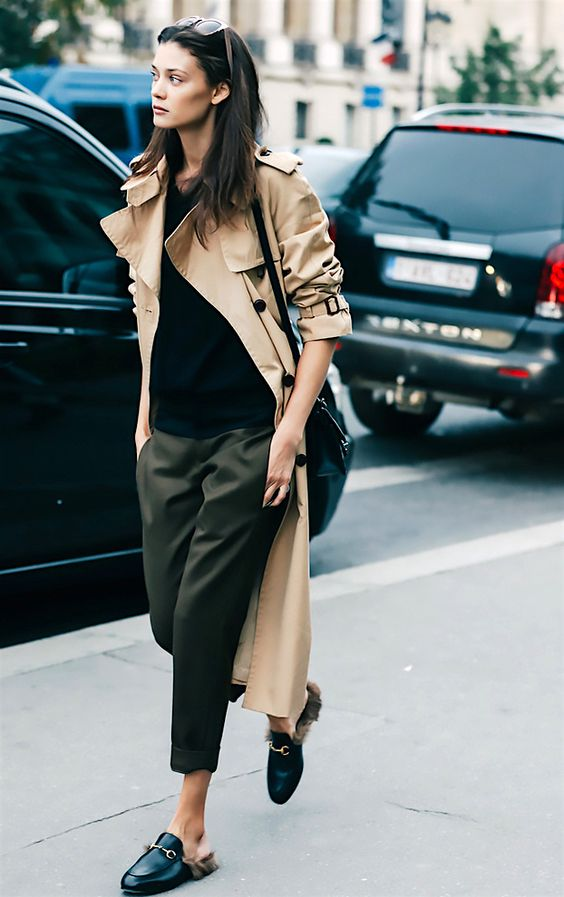 áo khoác nữ - trench coat