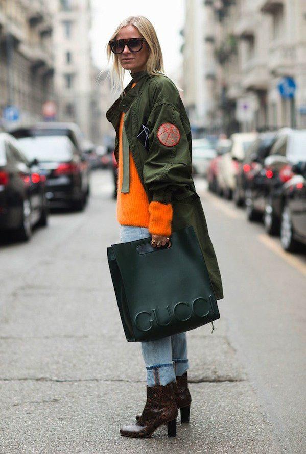 áo khoác nữ parka dáng rộng