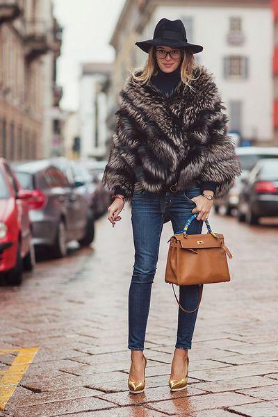 áo khoác lông - đỉnh cao của thời trang áo khoác nữ