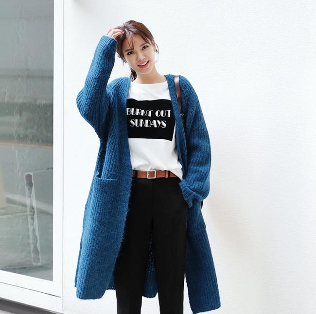 Trời lạnh lắm rồi, bạn đã biết cách mặc đúng trend với 6 món đang có sẵn trong tủ chưa? - Ảnh 15.
