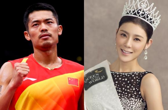 Chen chân vào cuộc hôn nhân của soái ca làng cầu lông, Hoa hậu Trung Quốc: Cám ơn mọi người đã quan tâm - Ảnh 1.