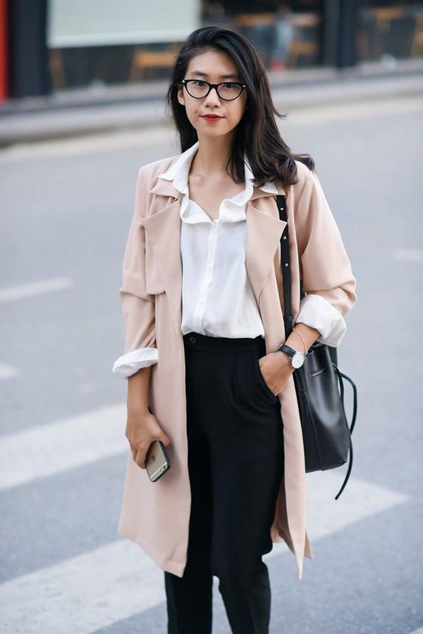 áo khoác dáng dài