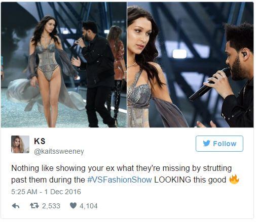 Khoảnh khắc gặp lại bồ cũ của Bella Hadid và The Weeknd tại Victorias Secret khiến dân mạng bình luận rầm rộ - Ảnh 6.