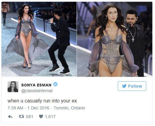 Khoảnh khắc gặp lại bồ cũ của Bella Hadid và The Weeknd tại Victorias Secret khiến dân mạng bình luận rầm rộ - Ảnh 8.