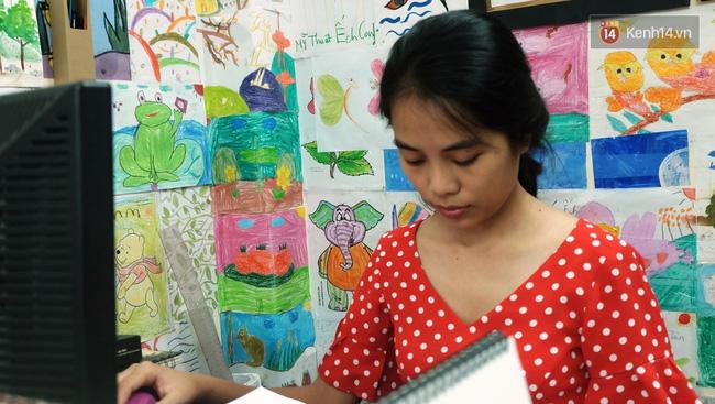 Gặp người đứng sau những bức tranh sắc màu trong ngõ hẻm Sài Gòn: nữ giáo viên dạy vẽ cho trẻ tự kỷ - Ảnh 7.
